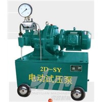 Hydraulic Pump / Electric Hydraulic Test Pump (2D-SY100MPa)
