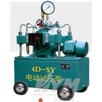 Electric Hydraulic Test Pump (4D-SY)
