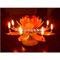 Flower Music Candle