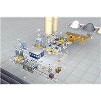 Fully-Automatic Block Production Line