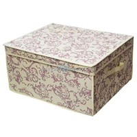 Italianate Storage Box with Transparent Lid