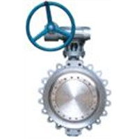 Lug type Double Offset Butterfly Valve