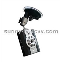 Night Version Car DVR Video Recorder With Motion Detection