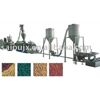 Parallel Twin Screw Extruder Pelletizing Line