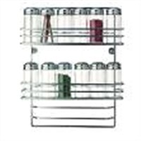Stainless Steel Door Mounted Wire Rack