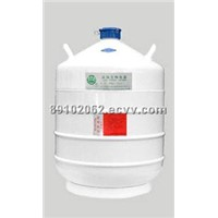 Transporting Liquid Nitrogen Container