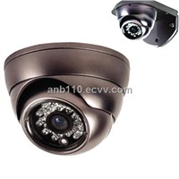 Trumpet Type Shell IR IP Dome Cameras with H.264 video compression and Vandal-proof aluminum alloy