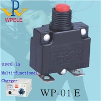 WP-01E AC Circuit Breaker (Manual Reset)