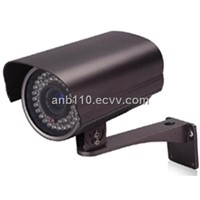 Weatherproof IR IP Cameras with 48 pcs IR LEDs (20m) and H.264 Compression Built-in MIC