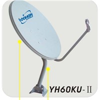 YH60KU-II Satellite TV Dish Antenna