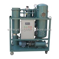 ZJC Turbine Vacuum Oil Purifier Waste Oil Disposal Machine