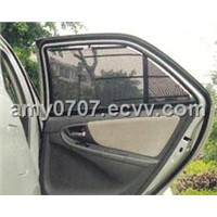 automatic car rear side sunshade curtain