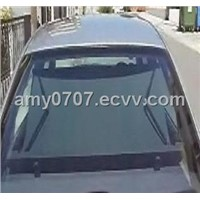 electric rear car sunshade