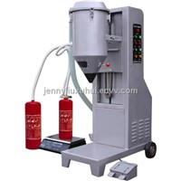 GFM16-1B Semi-automatic powder filling machine for fire extinguisher