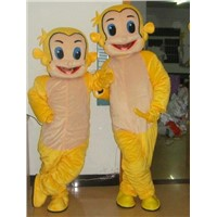 golden monkey-china mascot costume