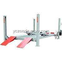 hydraulic 4 post wheel alignment lift