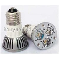 LED Spotlight HY-E27-3X1W-J