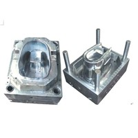 Household Plastic Mop Bucket Injection Mould