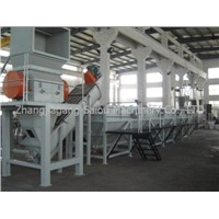 pp,pe films washing and recycling machine