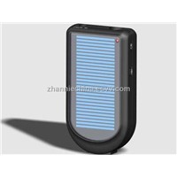 solar charger with led light