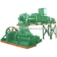 vacuum brick machine