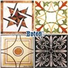 Marble medallion mosaic for walling