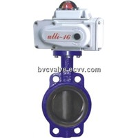 D971X/J Electric wafer soft sealing butterfly valve
