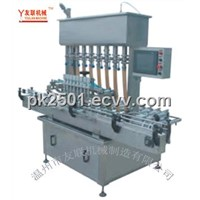 GNC-8L  Automatic Liquid and Paste Pressure filling machine (horizontal type )