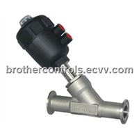 Clamped Angle Seat Valve