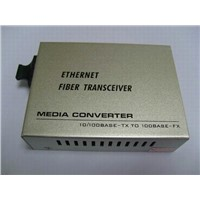 10/100M Fiber Media Converter (Built-In Power Supply)