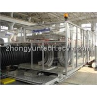 1500 PVC DW Corrugated Pipe Equipment