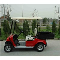 2 Seats Golf Cart with Rear Cargo Box