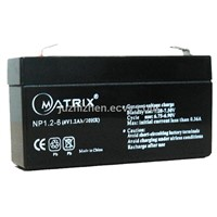 6V1.2Ah lead acid batteries