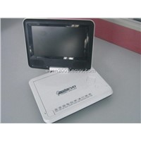 7.0 Inch (16:9) Portable DVD Player+USB+SD+MMC+DIVX