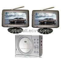 7 Inch Dual Screen Portable DVD (KD200-705DP)