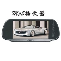 7 Inch Car Rearview Mirror Monitor with Bluetooth,Touch Screen, Fm Transmit Function, USB/SD Card RE