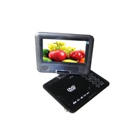 7 inch portable dvd player with DVB-T/GAME/USB/CARD READER