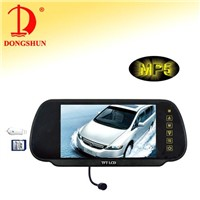 7-Inch Rearview Monitor with MP5 & Bluetooth