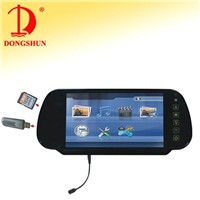 7-inch Rearview Monitor with USB/SD/MP4/GAMES