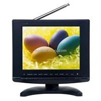 8inch H264 DVB-T TV with USB Recorder