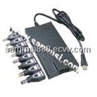90W Auto Super-Slim Universal Adapter/Charger for Laptop/Notebooks