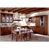 American Solid Wood Kitchen Cabinets, Solid Kitchen Furniture