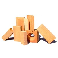 Big Grid Surface Fireclay Bricks for Hot-Blast Furnace