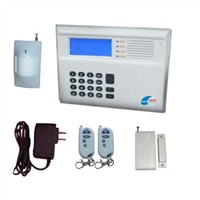 CDMA Data Network Anti-Theft Alarm System