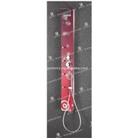 CE Approved Tempered Glass Stainless Shower Panel - G062
