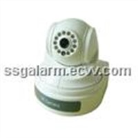 CMOS PTZ IP Camera with Built-in GSM Alarm