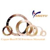 Copper-Base P/M Friction Material