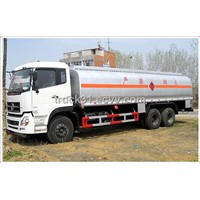 Double Rear Axle Oil Tank Truck