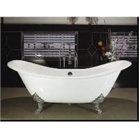 Double Slipper Cast Iron Bath Tubs