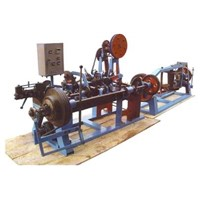Double-Stranded Barbed Wire Machine